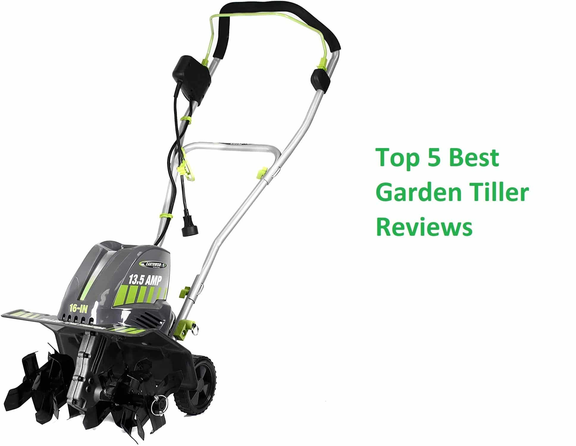 Top 5 best garden tiller reviews