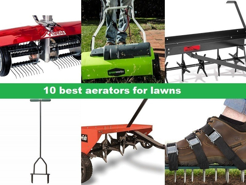 10 best aerators for lawns