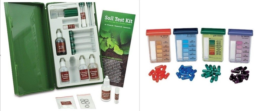 The soil kit test