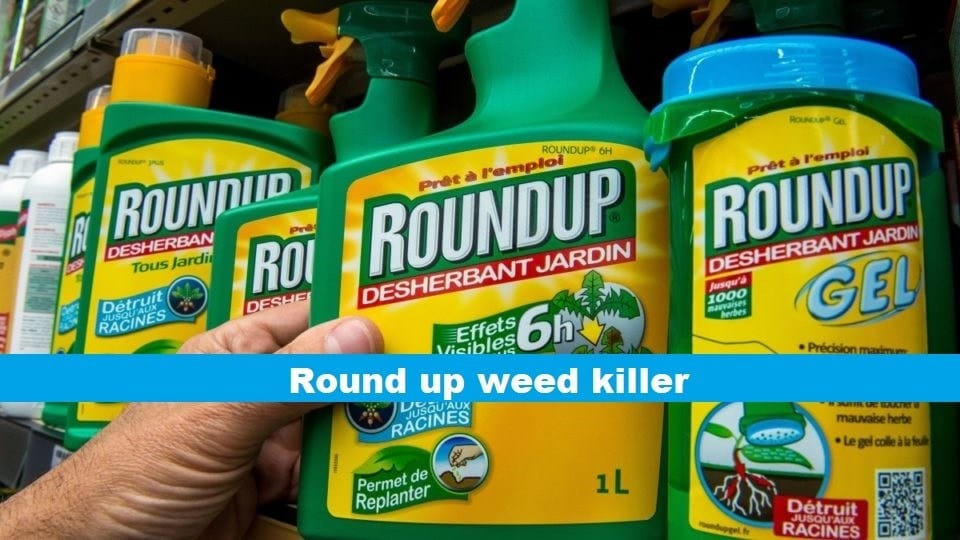 round up weed killer