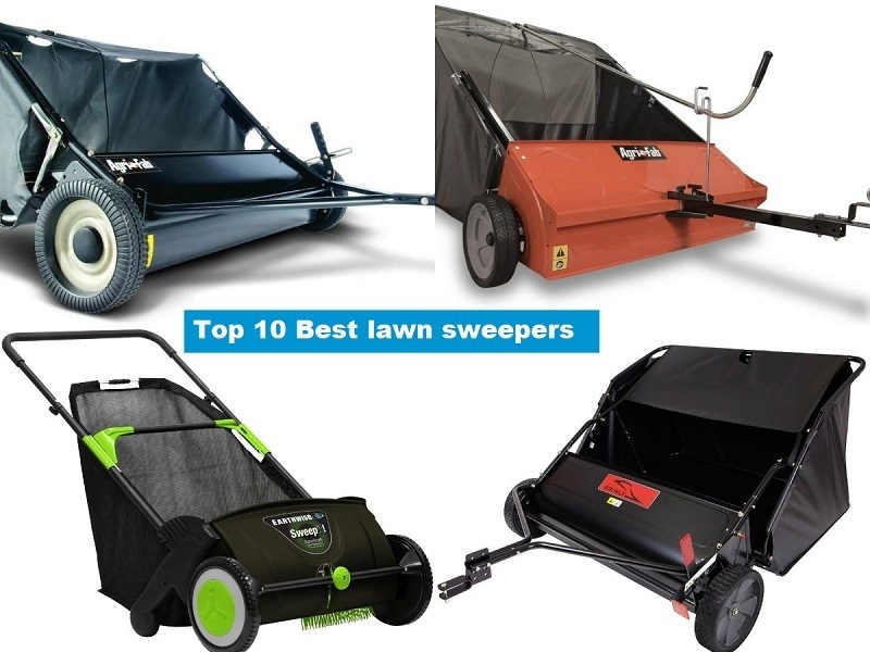 Top 10 Best lawn sweepers