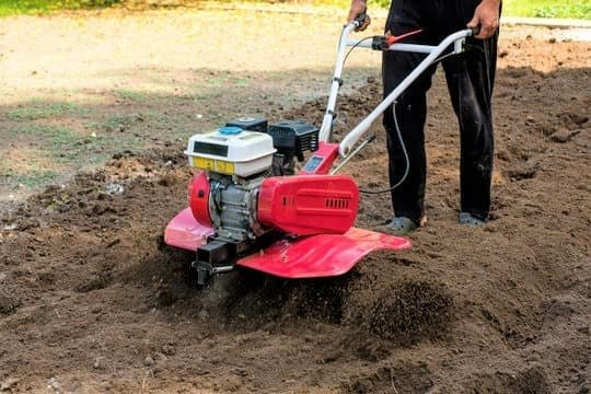 how to use a garden tiller
